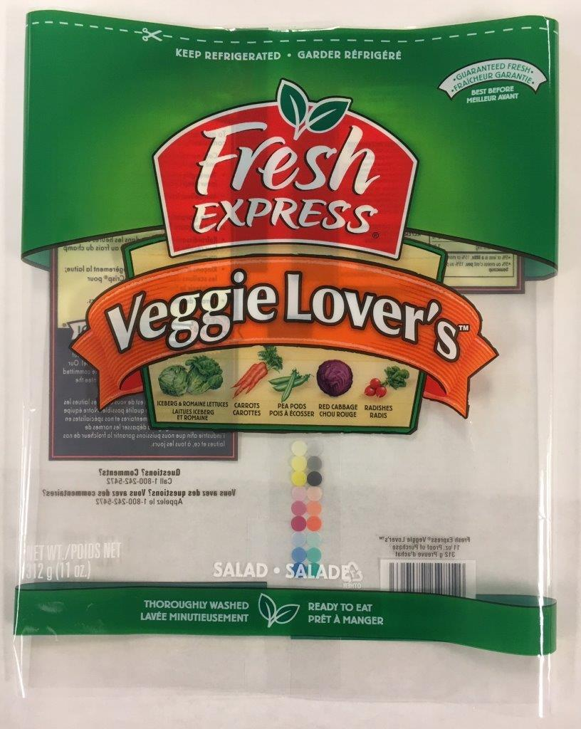 Fresh Express - « Veggie Lover's »