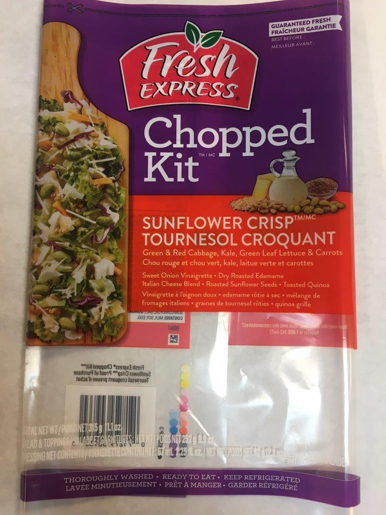 Fresh Express - « Chopped Kit »  Tournesol croquant