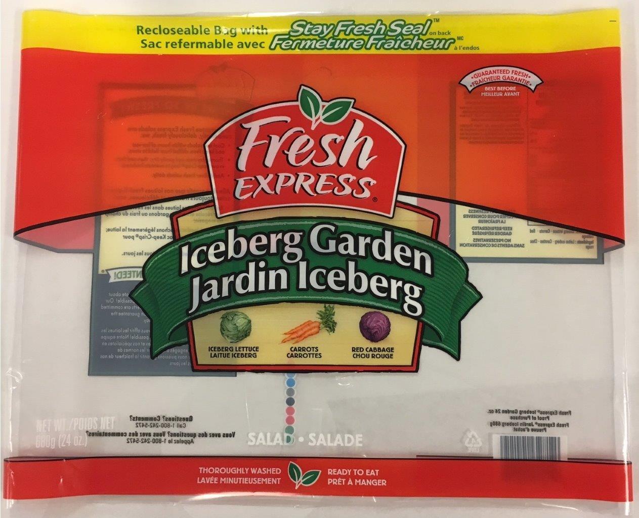 Fresh Express - Iceberg Garden 680g
