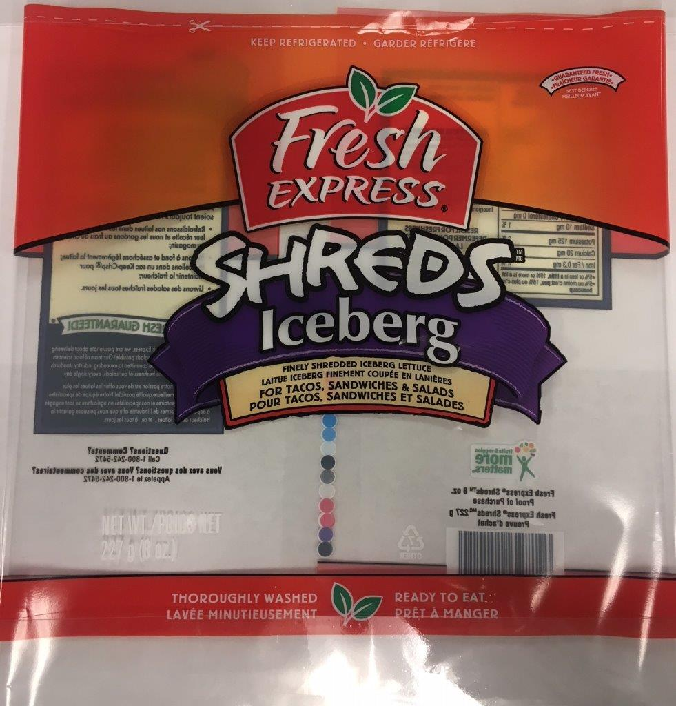Fresh Express - « Shreds » Iceberg
