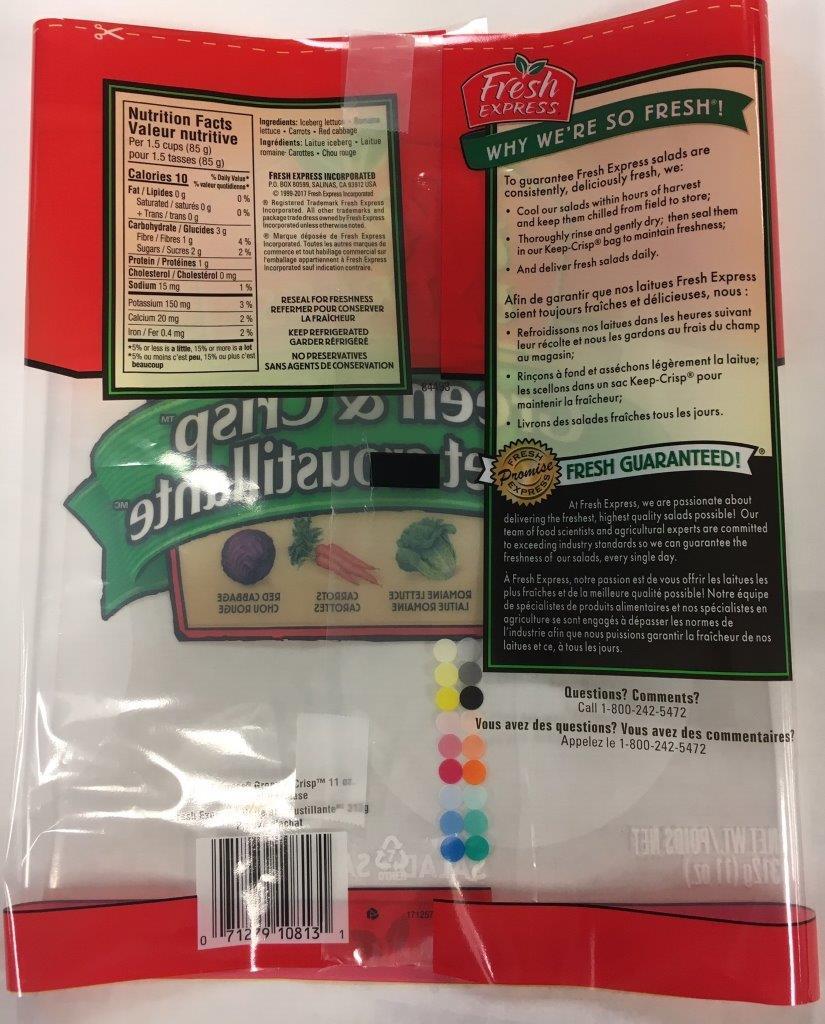 Fresh Express - Green & Crisp (universal product code)
