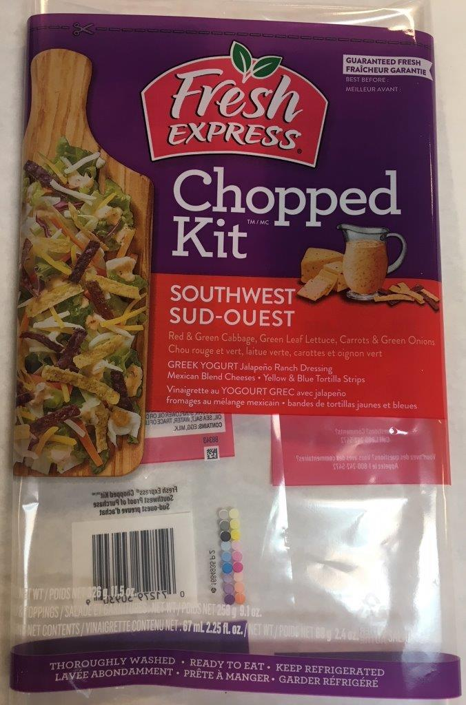 Fresh Express - « Chopped Kit » Sud-ouest