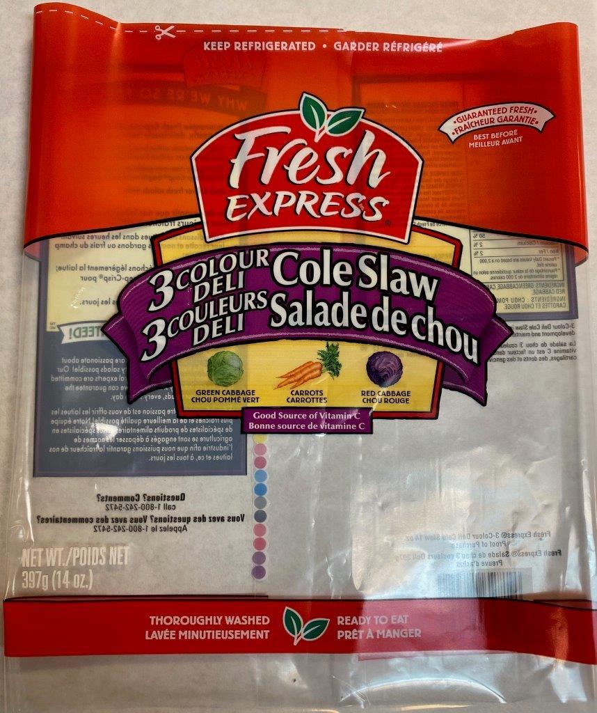 Fresh Express - 3 Colour Deli Cole Slaw