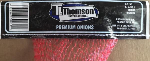 Thomson International Premium Onions – 2.27 kg