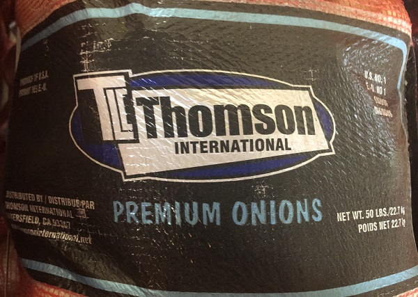 « Thomson International Premium Onions » 2