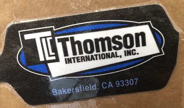 « Thomson International, Inc. »