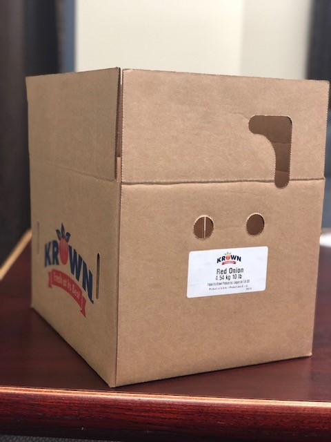 """Krown - """"Red Onion"""" - 4.54 kg / 10 lb (box)"""