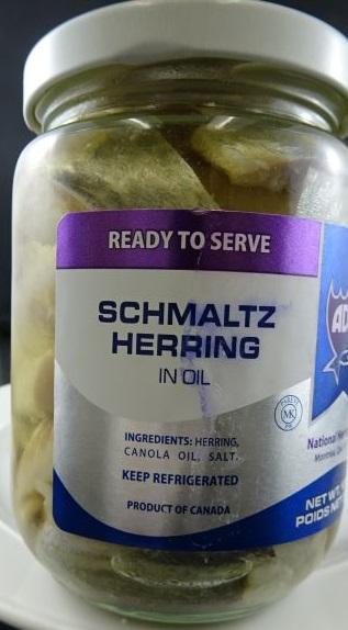 Adar - Schmaltz Herring in Oil