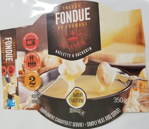 Amour & Tradition - Fondue au fromage Kaiser
