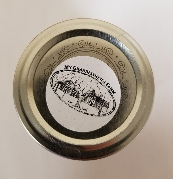 My Grandfather's Farm – Pumpkin Pie Jam – 250 mL (top)