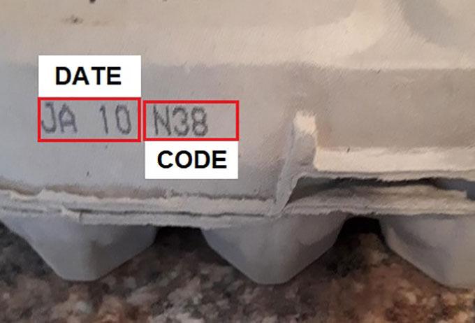 Date code: JAN 10 N38