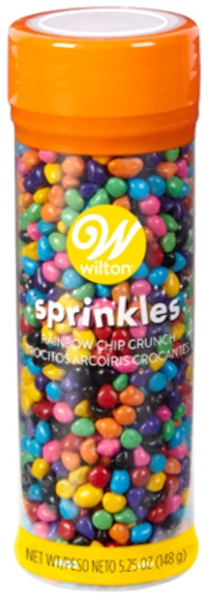 Wilton – « Sprinkles Rainbow Chip Crunch » – 148 grams
