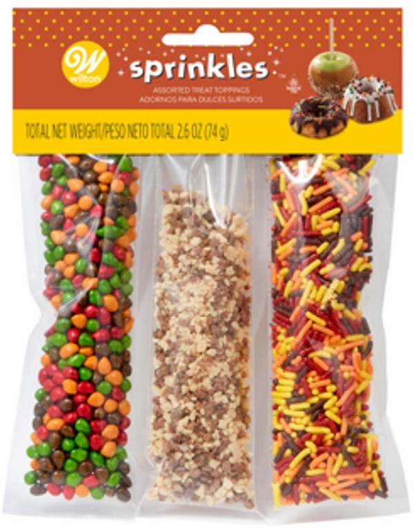 Wilton – « Sprinkles Assorted Treat Toppings » – 74 grams
