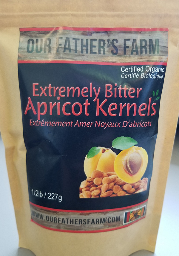 Our Father's Farm - Extremely Bitter  Apricot Kernels