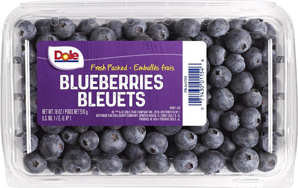 Dole - Fresh Packed Blueberries