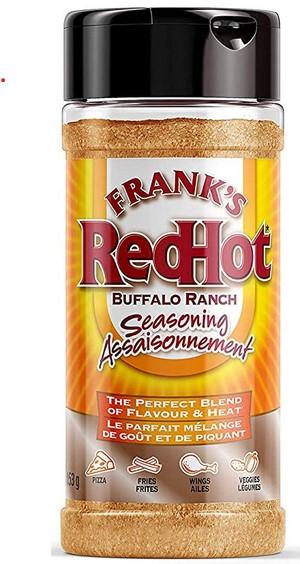 Frank's RedHot – Buffalo Ranch Seasoning – 153 grams