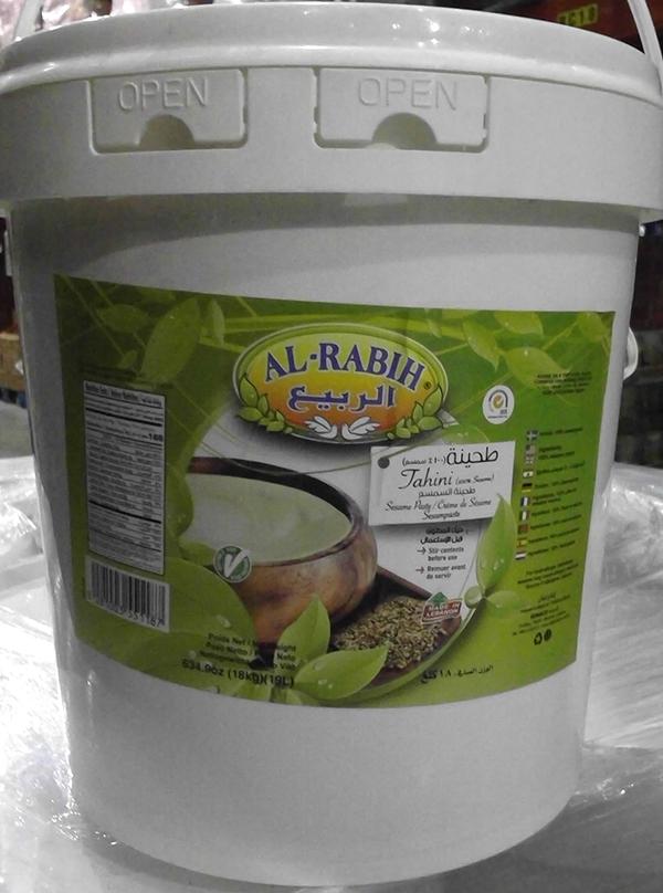 Al-Rabih-Tahini – 18 kilograms (front)