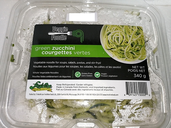 Veggie Foodle - Green Zucchini Whole Vegetable Noodles