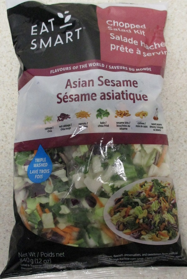 Eat Smart - Asian Sesame Chopped Salad Kit - 340 grams - front