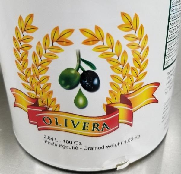 Olivera – Sliced olives – 2.84 Litres